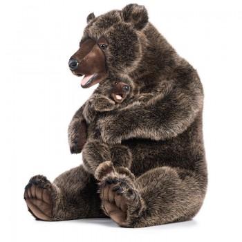 Mamma Grizzly con piccolo