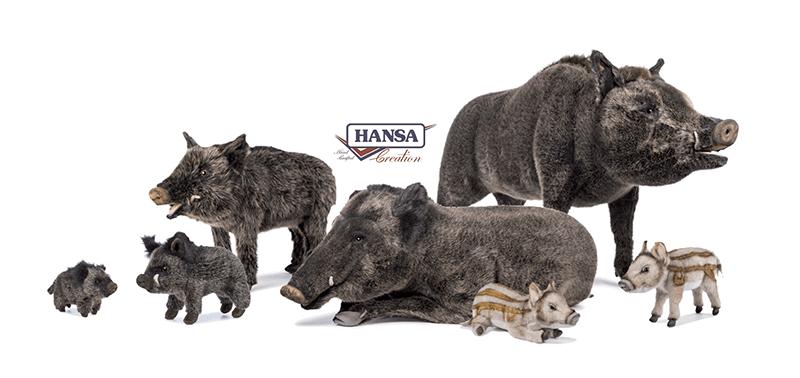 Hansa Creation Slider Famiglia di cinghiali