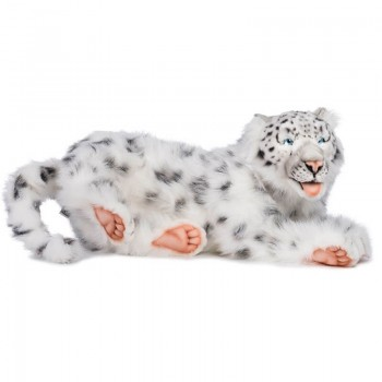 LEOPARDO DELLE NEVI DISTESO Hansa Creation