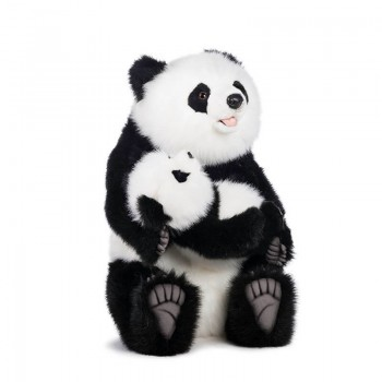 PANDA CON CUCCIOLO Hansa Creation