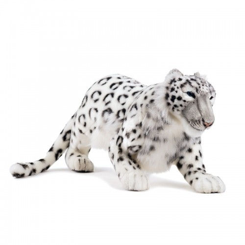 LEOPARDO DELLE NEVI IN AGGUATO Hansa Creation