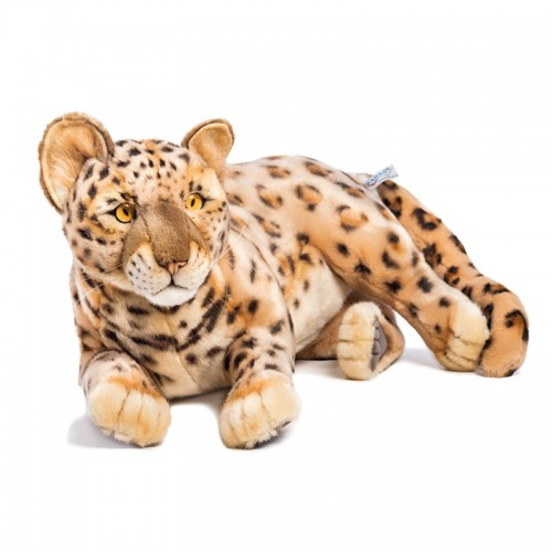 CUCCIOLO DI LEOPARDO DISTESO Hansa Creation