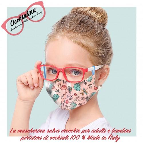 Mascherina per occhiali (trasporto...
