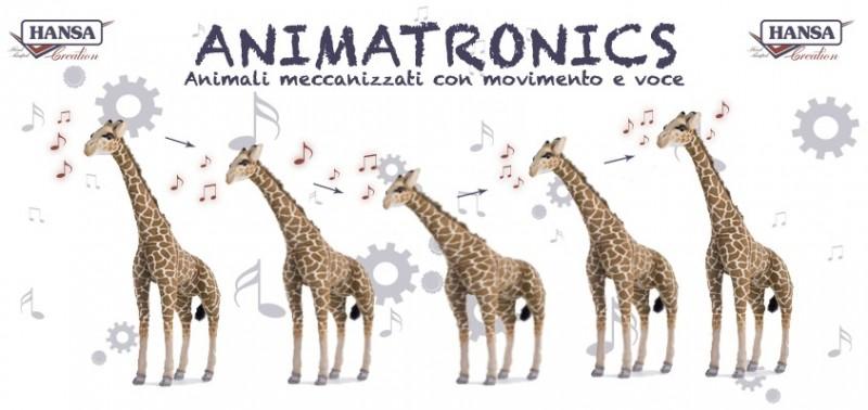 Animatronics Hansa Peluches