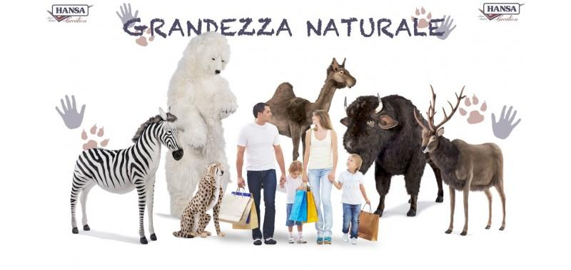 Misure Reali Peluches di Animali Hansa Creation Italia