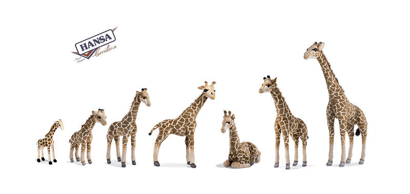 Hansa Creation Slider Giraffe per tutte le altezze