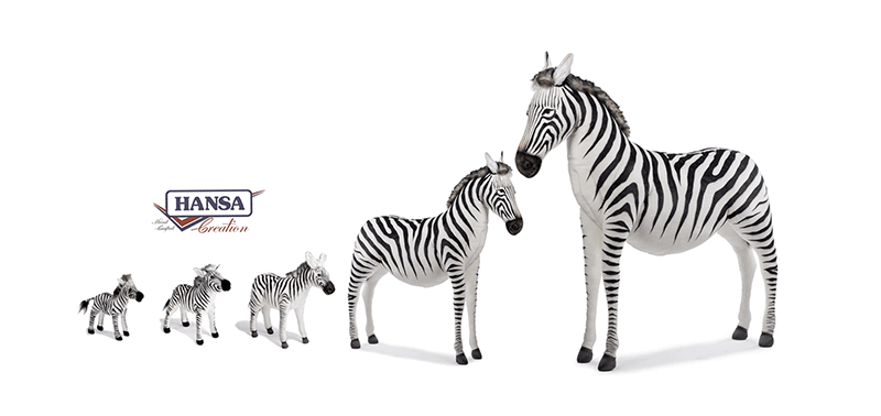 Hansa Creation Slider Una zebra a pois